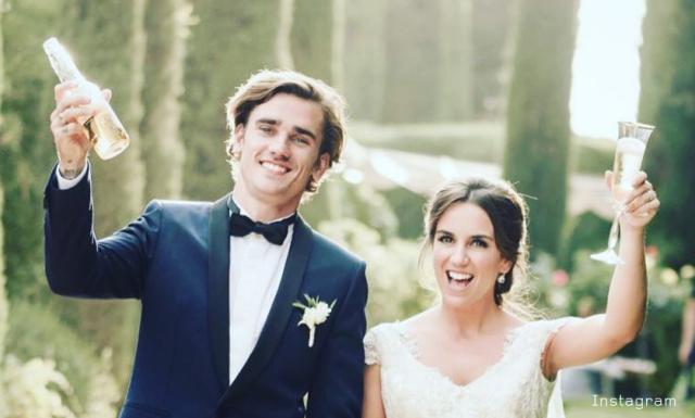グリーズマン結婚