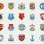 プレミアリーグ全20チームの「スーパーマリオ風」エンブレム ネット上に投稿された作品が欧米で話題に